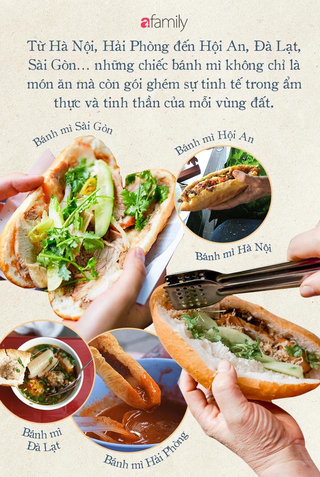 """Bánh mì Việt Nam, hành trình từ ổ bánh """"thượng lưu"""" cho đến món ăn đường phố làm kinh ngạc cả thế giới - Ảnh 17."""